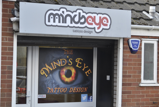 Mind's Eye Tattoo Design